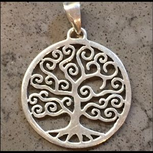 Tree of Life sterling (stamped) pendant